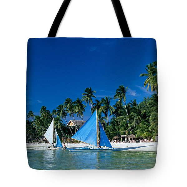 Philippines, Boracay Isla Tote Bag by Gloria & Richard Maschmeyer - Printscapes