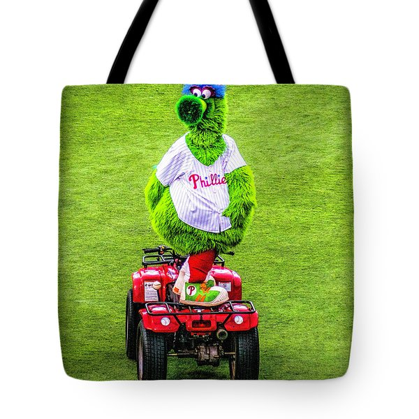 Phillie Phanatic Scooter Tote Bag