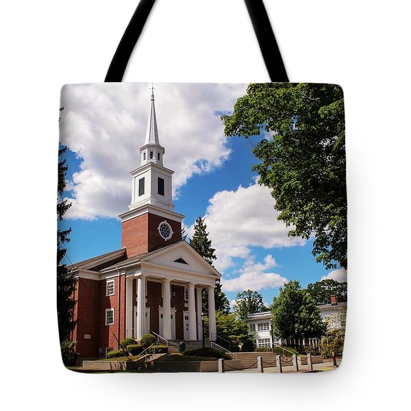 Phillips Stevens Chapel, Williston Northampton School, Easthampton, Ma Tote Bag