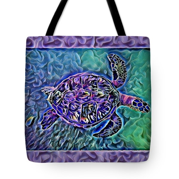 Phillis The Turtle Tote Bag