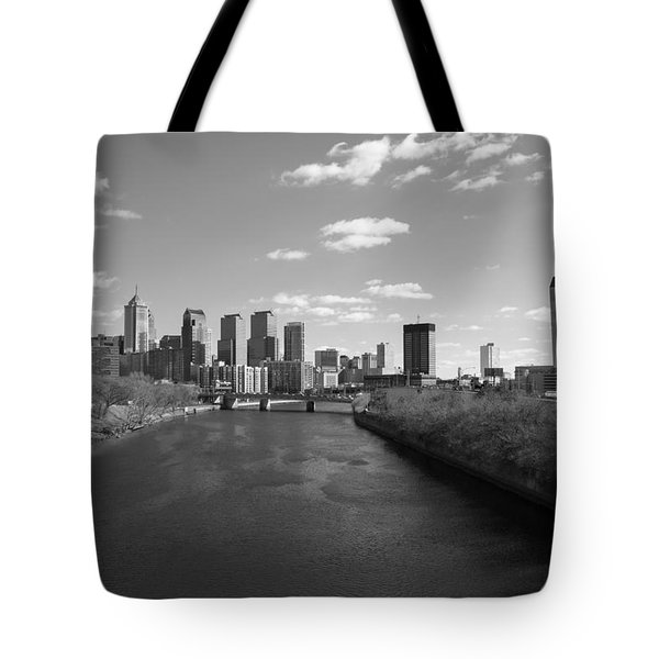 Philly B/w Tote Bag