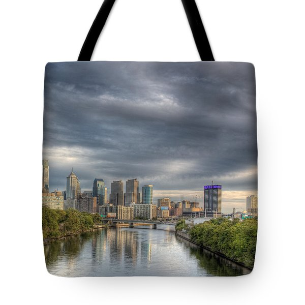 Philly River 2 Tote Bag