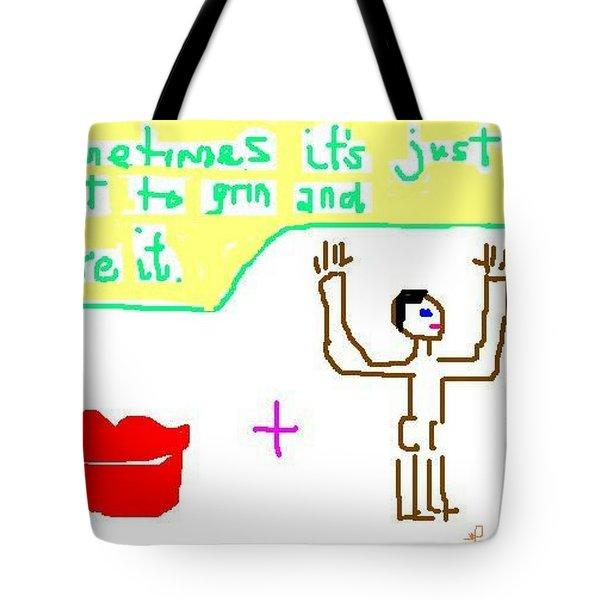 Philosophy Tote Bag by Lenore Senior