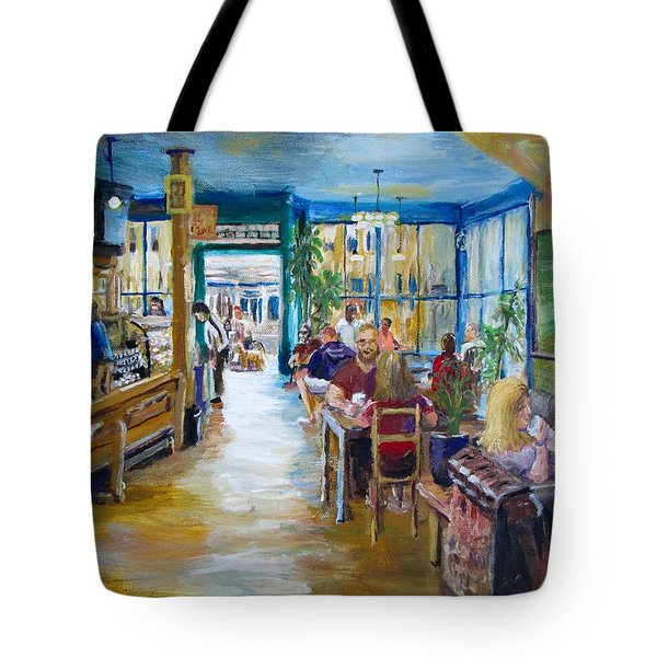 Philz Coffee San Francisco Tote Bag by Jack Skinner