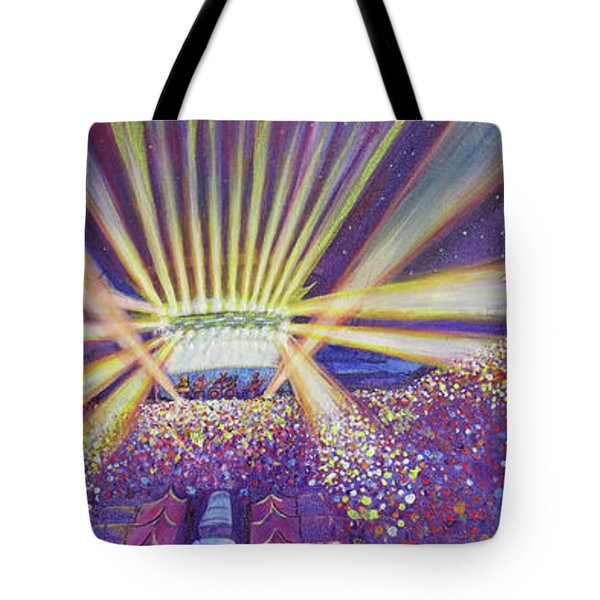 Phish At Dicks 2016 Tote Bag by David Sockrider