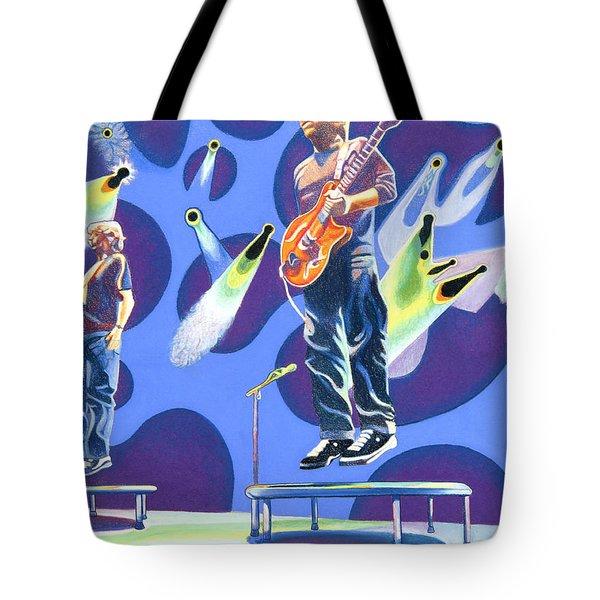Phish Tramps Tote Bag