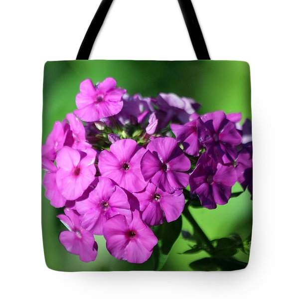 Tote Bag featuring the photograph Phlox by Irina Hays