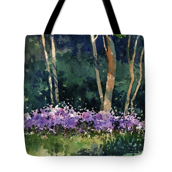 Phlox Meadow, Harrington State Park Tote Bag