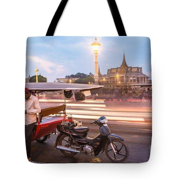 Phnom Penh Tuk Tuk Tote Bag
