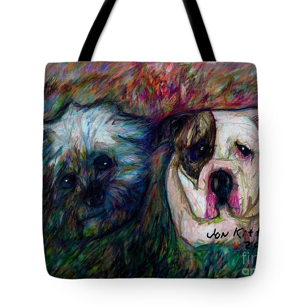 Phoebe And Ace Tote Bag
