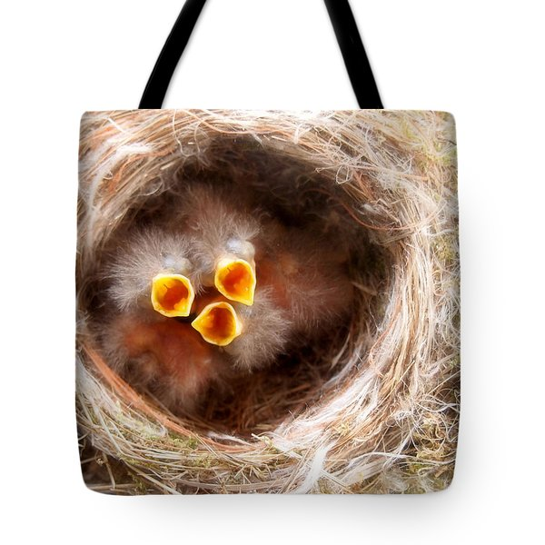 Phoebe Babies Tote Bag by Angie Rea