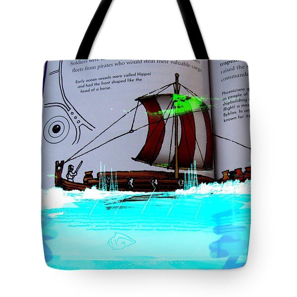 Phoenician Night Voyagers  Tote Bag