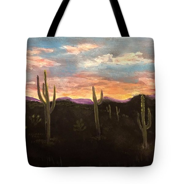 Phoenix Az Sunset Tote Bag