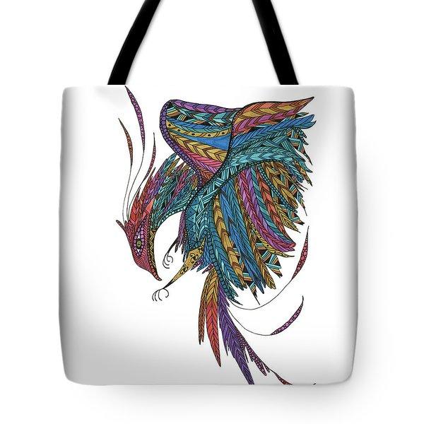 Phoenix Landing Tote Bag