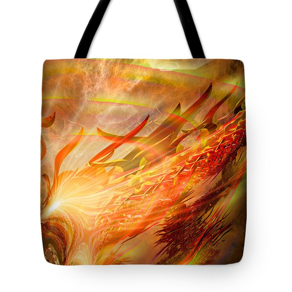 Phoenix Tote Bag by Michael Durst