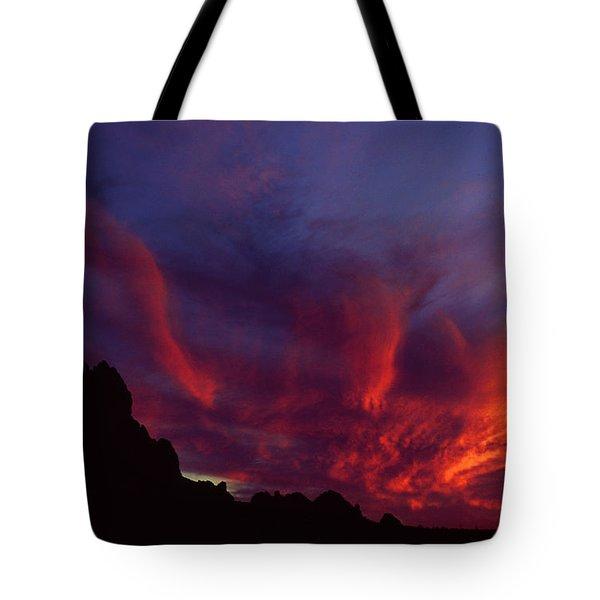 Phoenix Risen Tote Bag
