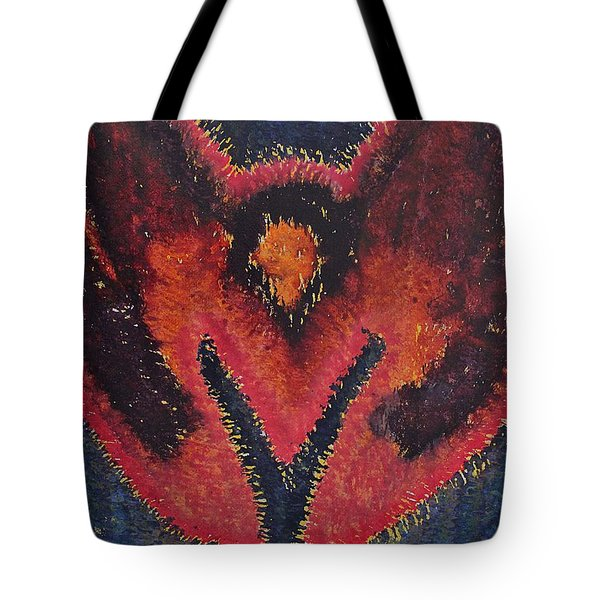 Phoenix Rising Original Painting Tote Bag