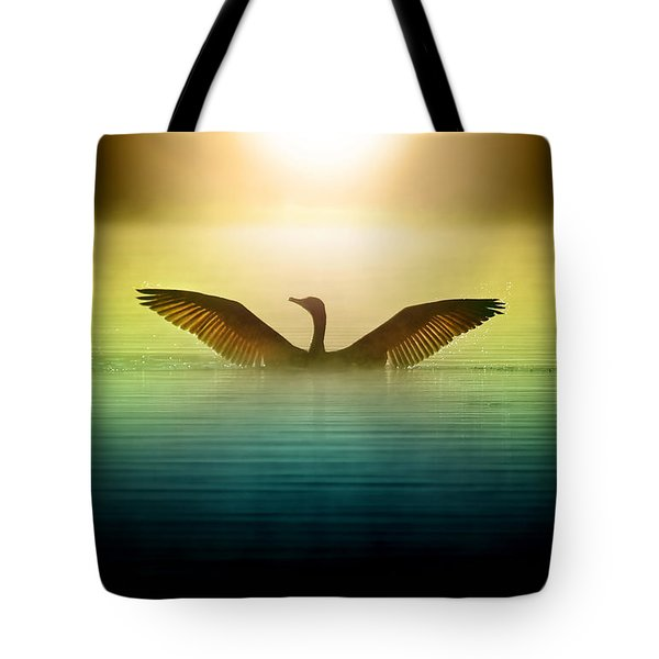Phoenix Rising Tote Bag by Rob Blair