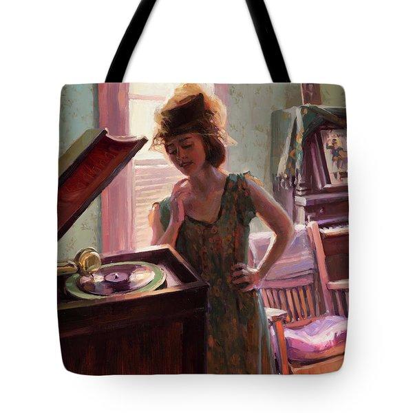 Phonograph Days Tote Bag