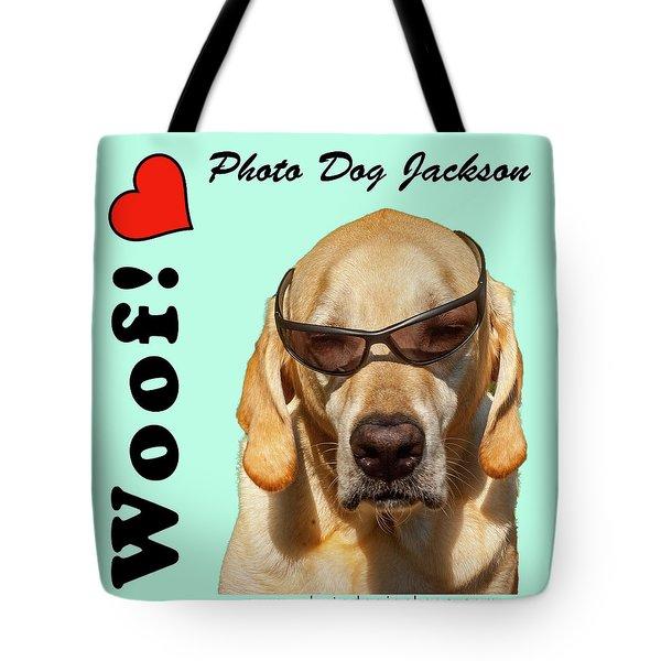 Photo Dog Jackson Mug Tote Bag