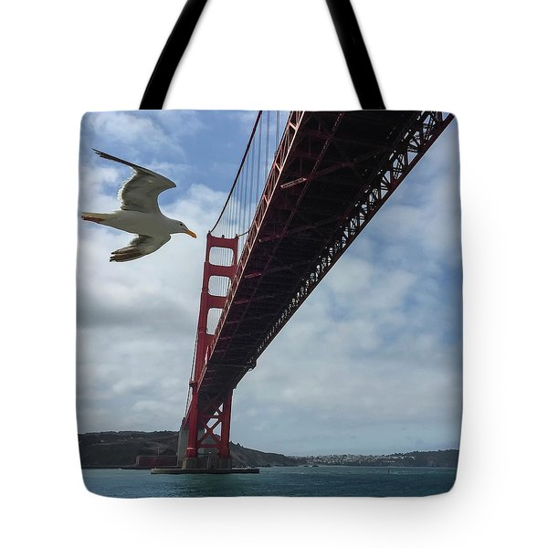 Tote Bag featuring the photograph Photobomb by Chris Feichtner