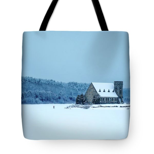 Photographer On Thin Ice Tote Bag