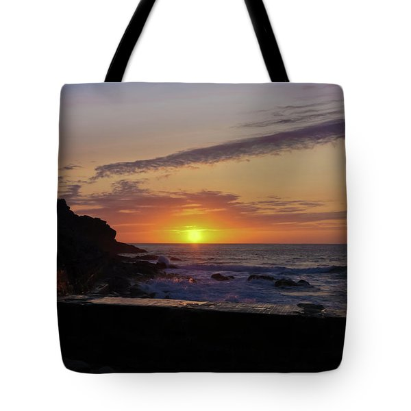 Photographer's Sunset Tote Bag by Terri Waters