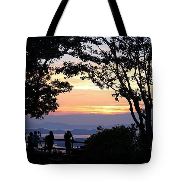 Tote Bag featuring the photograph Photographers  by Yumi Johnson