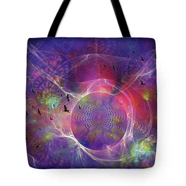 Photon-rings Tote Bag