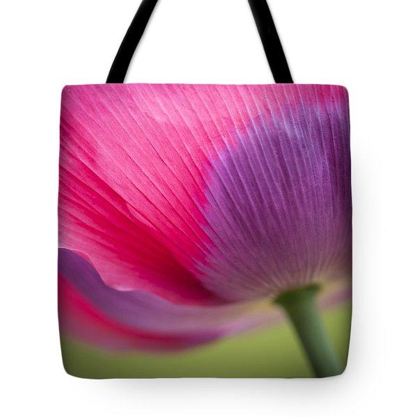 Poppy Close Up Tote Bag