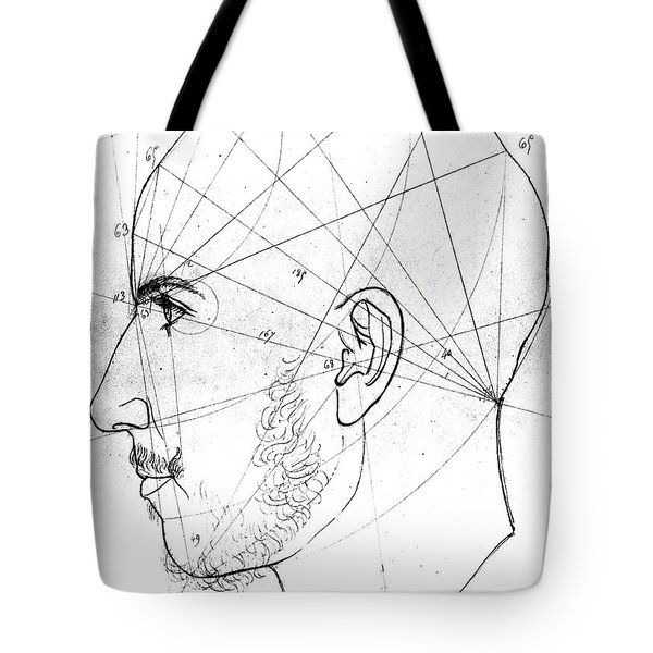 Phrenological Study Tote Bag