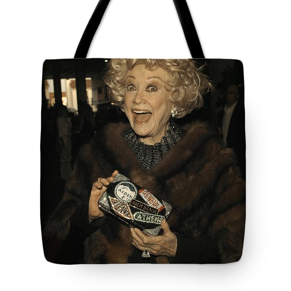 Phyllis Diller Tote Bag by Nina Prommer