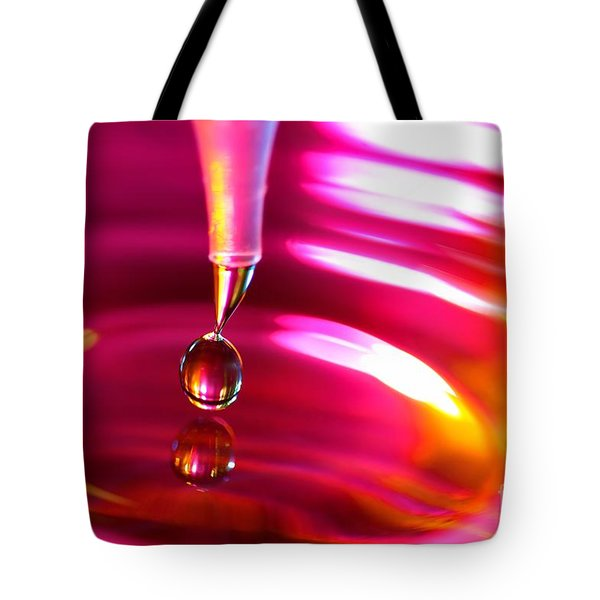 Physics Of Water 3 Tote Bag