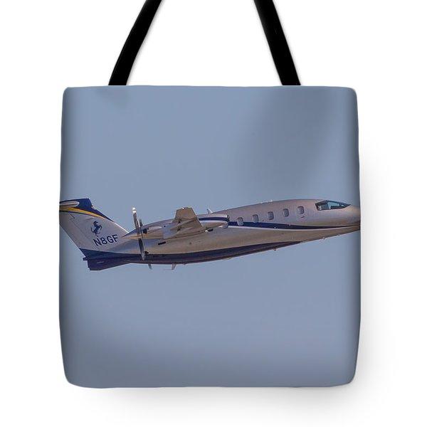 Piaggio P-180 Tote Bag