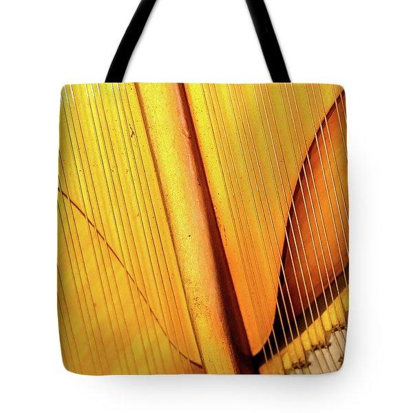 Piano 3 Tote Bag by Rebecca Cozart