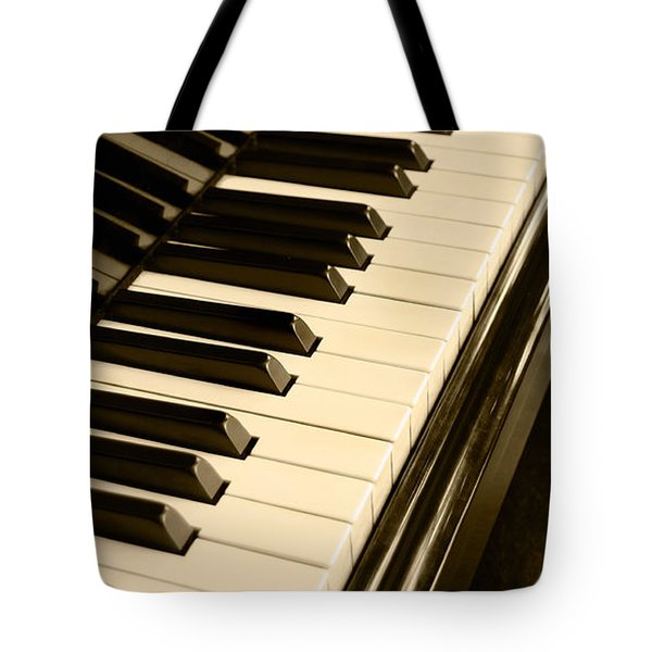 Piano Tote Bag by Charuhas Images