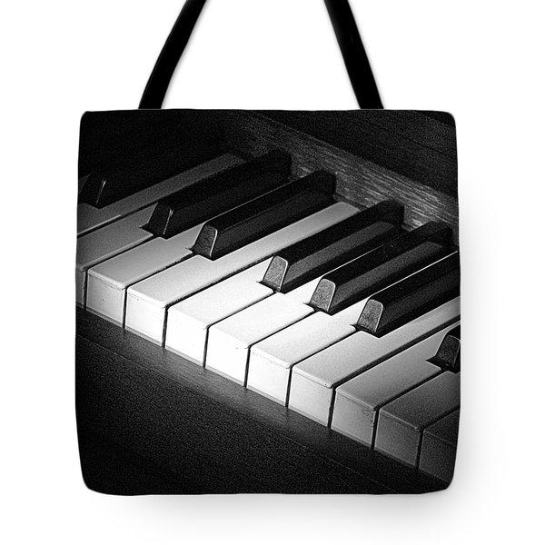 Piano Tote Bag