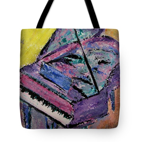 Piano Pink Tote Bag