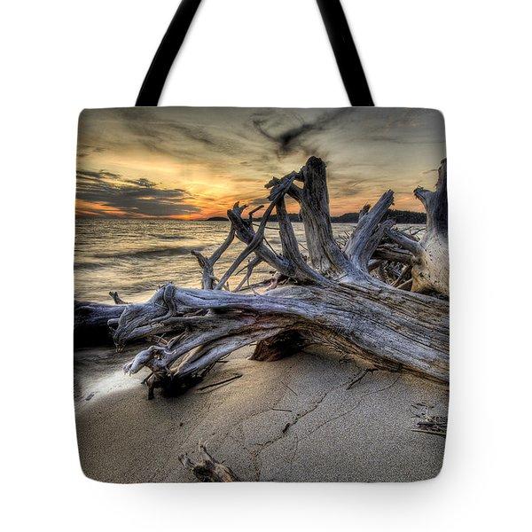 Pic Driftwood Tote Bag