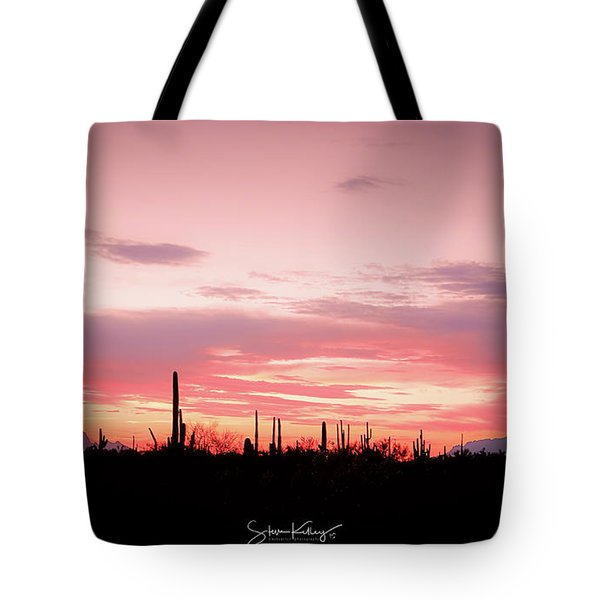 Picacho Sunset Tote Bag