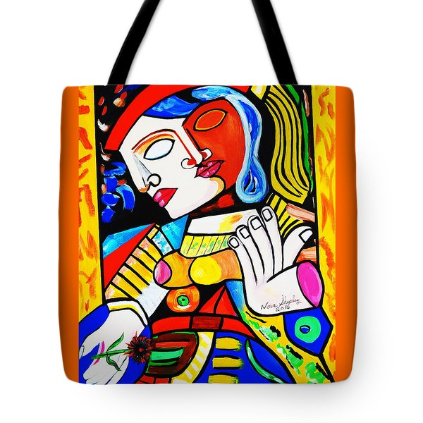 Picasso By Nora Turkish Man Tote Bag