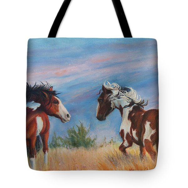 Picasso Challenge Tote Bag by Karen Kennedy Chatham