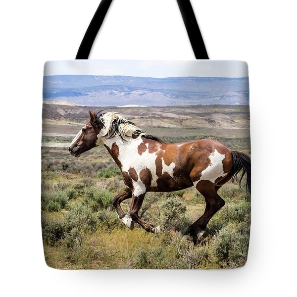 Picasso - Free As The Wind Tote Bag by Nadja Rider