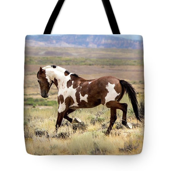 Picasso Strutting His Stuff Tote Bag by Nadja Rider