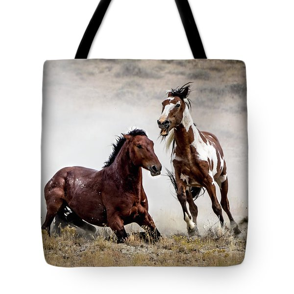 Picasso - Wild Stallion Battle Tote Bag