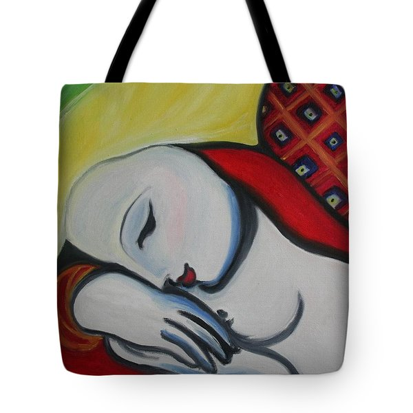 Picasso's Resting Angels Tote Bag