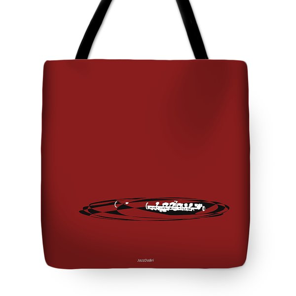 Piccolo In Orange Red Tote Bag