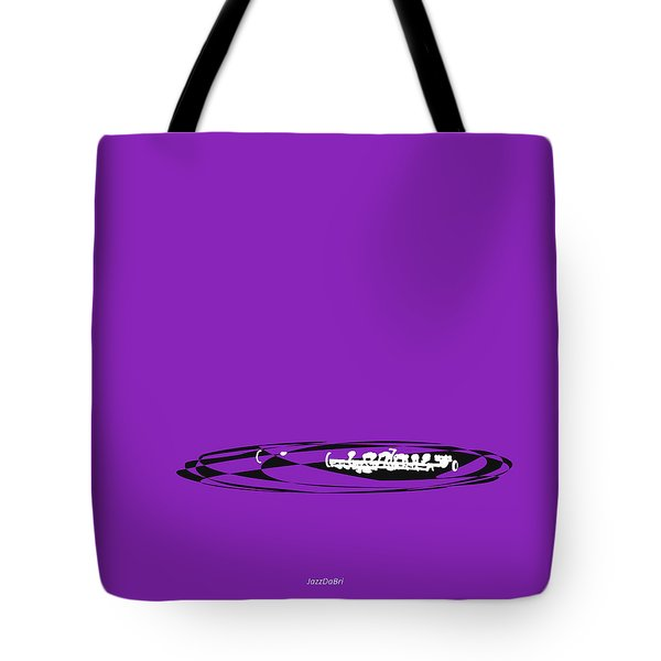 Piccolo In Purple Tote Bag
