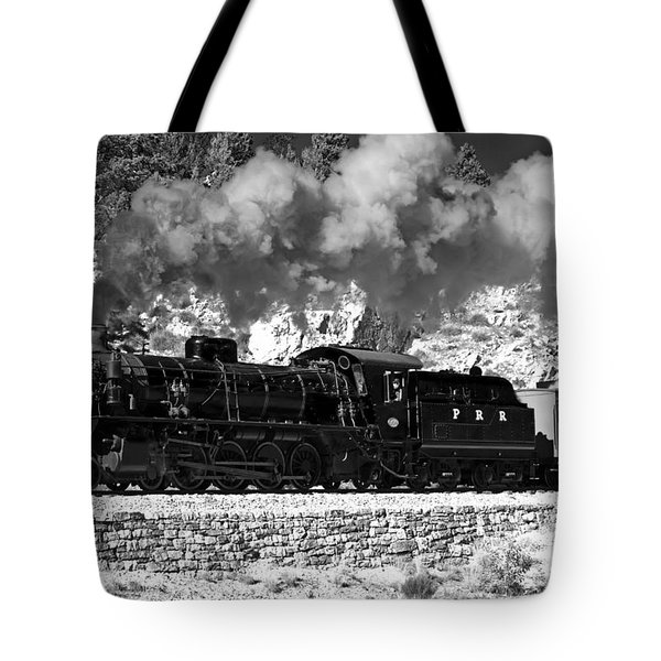 Tote Bag featuring the photograph Pichi Richi Railwaytrain by Bill  Robinson