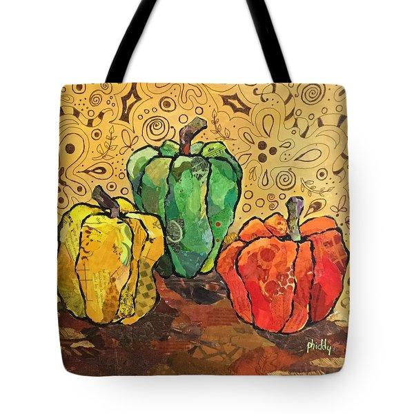 Pick A Peck Tote Bag